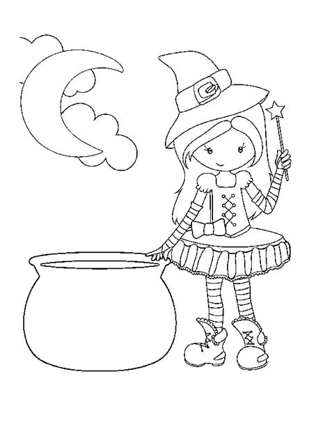 cute  printable halloween coloring pages crazy