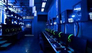 Gaming Center Blue Screen Gaming