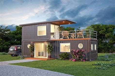 stylish cargo container homes    hot