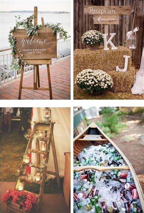 rustic chic wedding theme ideas   laid  indian