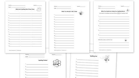 kindergarten spelling practice worksheets cauliflower