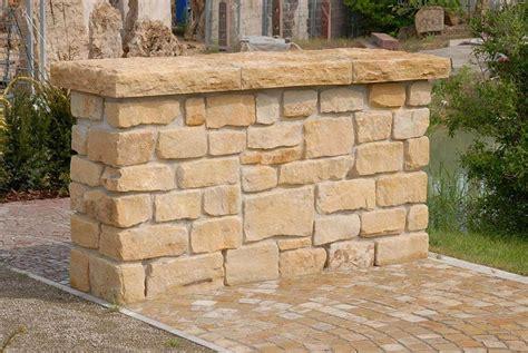 Sandstein Verfugen Material by Mauersteine F 252 R Garten Aus Naturstein G 252 Nstig Kaufen