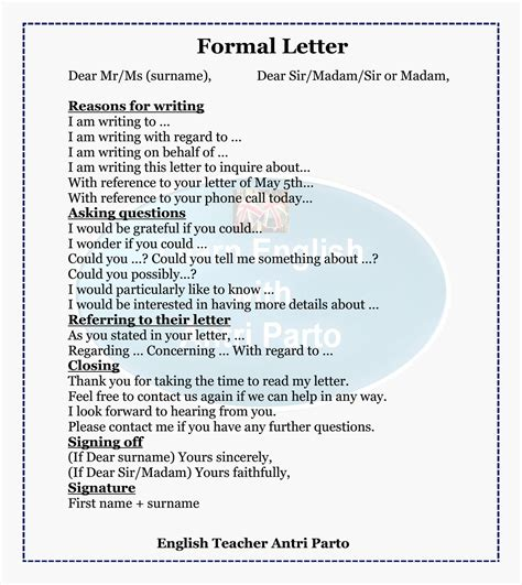 grammar letter writing resource learnenglish