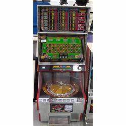 Eye Popping Vintage Rapid Roulette Casino Video Game by ESI