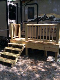 gallery rv wooden staircase   wheel stuff