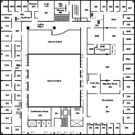 floor plans mit mit media lab third floor
