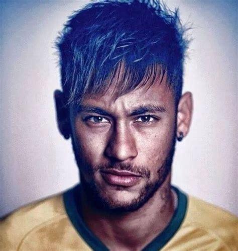 neymar short hairstyles world cup  football players