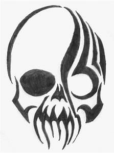 Tribal Skulls - ClipArt Best