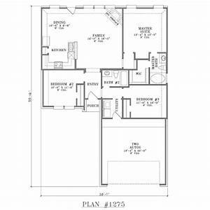 ranch house floor plans open floor plan house designs With open floor plan home designs