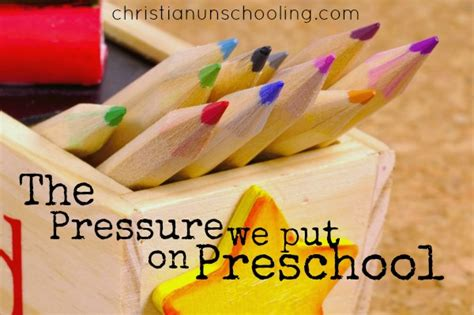 Panicking About Preschool  Christian Unschooling