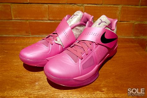 nike zoom kd iv aunt pearl detailed  sneakerfiles