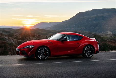 First Appearance Of All-new Toyota Gr Supra Takes Place At
