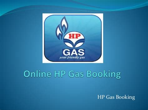 Hp Gas Booking by Hp Gas Booking