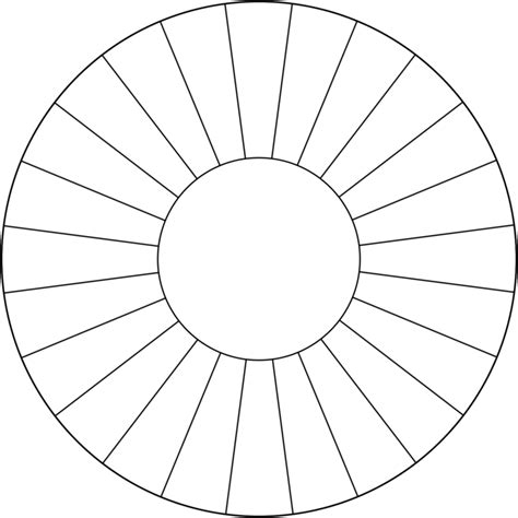 spin  wheel template  clipart