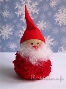 Basteln Mit Kindern Weihnachten Und Winter : basteln mit kindern zu weihnachten und im winter pompom nikolaus ~ Watch28wear.com Haus und Dekorationen