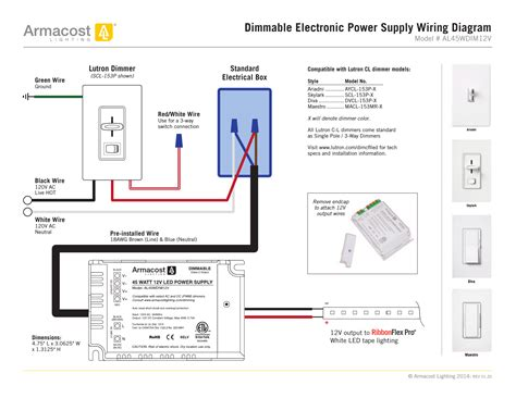 Collection Lutron Led Dimmer Switch Wiring Diagram Sample