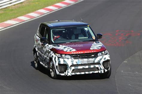 2018 Range Rover Sport Original Pictures Autoevolution