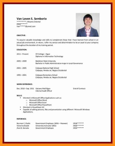 You can freely format text and change the font. 40 Resume Samples for College Student in 2020 | Job resume examples, Sample resume templates ...