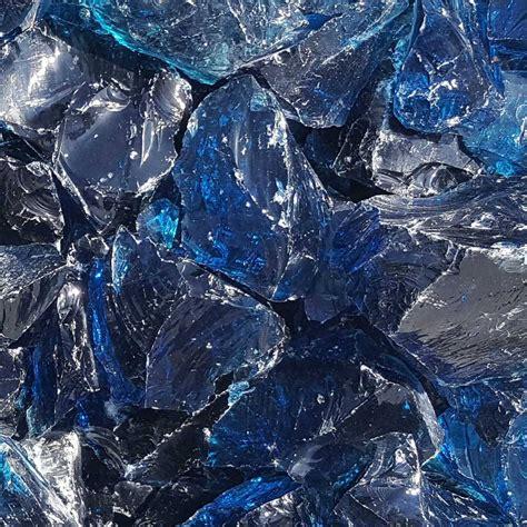 Glassteine/Glasbrocken blau   naturstein-online-kaufen.de
