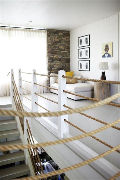 canapé loft idee per usare cime e corde nell arredamento tiriordino
