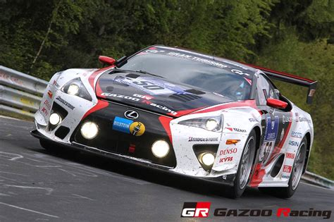 lexus lfa takes class win   nurburgring  hours