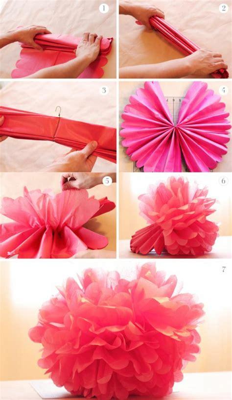 blumen basteln aus krepppapier 1001 ideen wie sie papierblumen basteln k 246 nnen