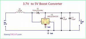 3 7v To 5v Boost Converter