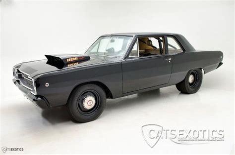 hemi dart black recreation restored custom 1967 1969 for sale technical specifications