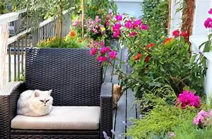 der schone balkon ideen und tipps zum selbermachen With markise balkon mit rasch tapete wallton