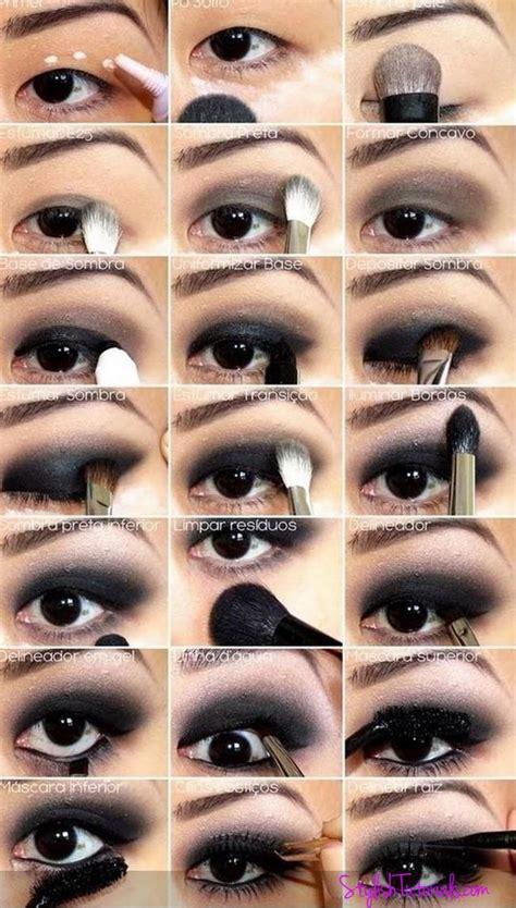 top  amazing black eye makeup tutorials pretty designs