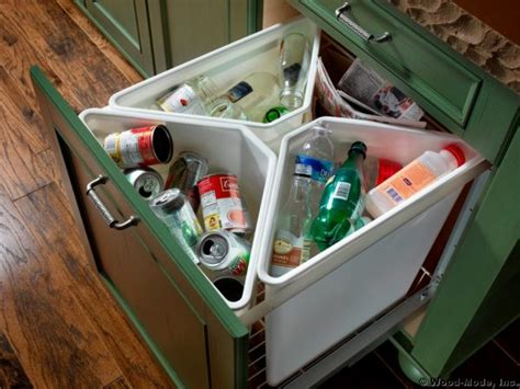 kitchen recycling center 48 kitchen storage hacks and solutions for your home