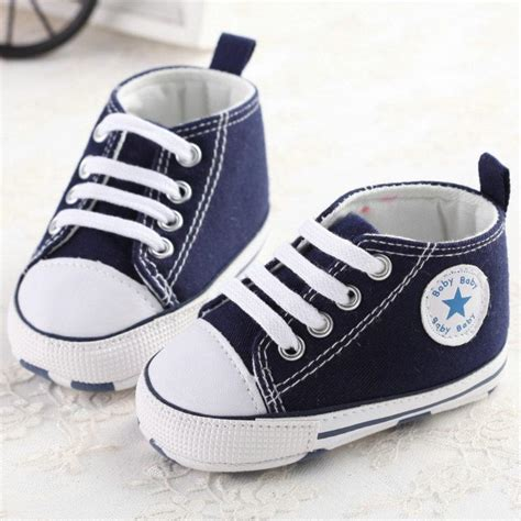 shoes baby boys infant boy sneakers newborn toddler canvas sports walkers cute babies converse footwear soft unisex classic bebe slip