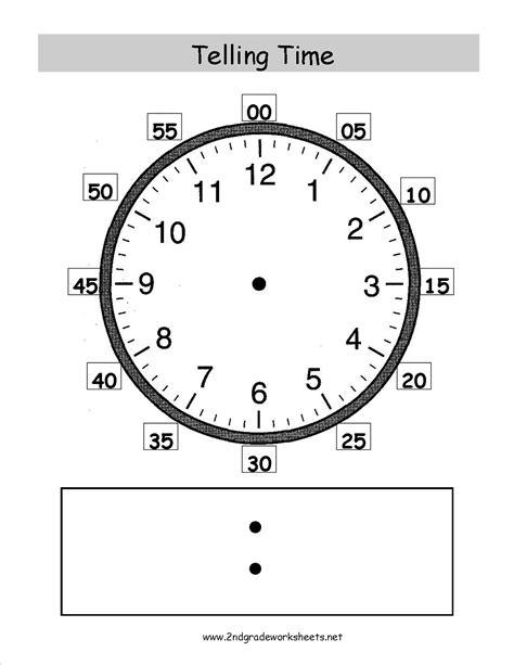 images   grade worksheets clock time