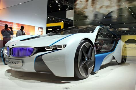 Bmw I8 Concept Car From Mission Impossible 4 A Big Hit On