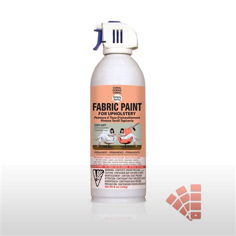 coral fabric dye spray paint easy effective