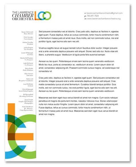 sample letterhead  board  directors listed google