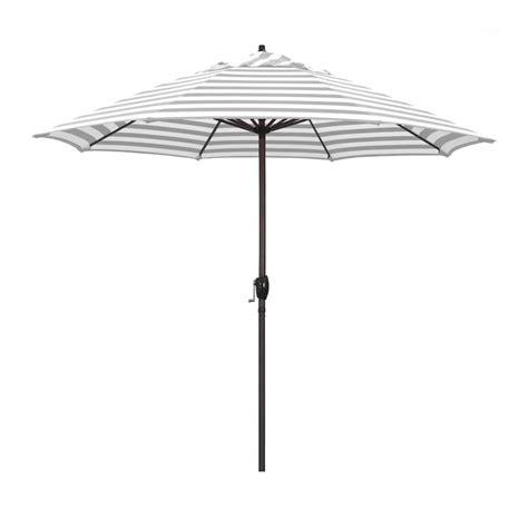 California Umbrella 9 ft. Bronze Aluminum Market Patio ...