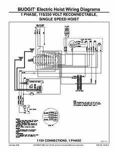 Budgit Hoist Wiring Diagram