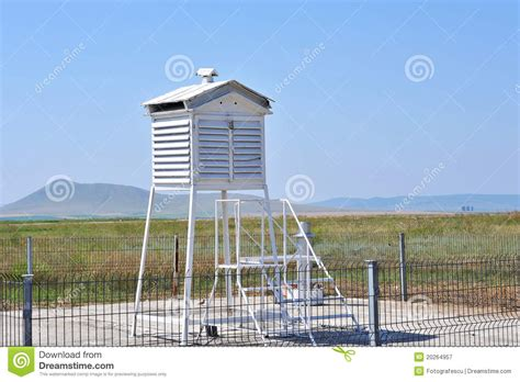 airport weather station stock image image  gale