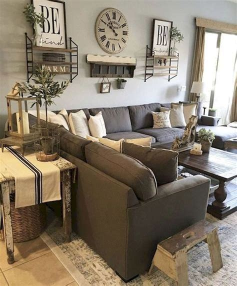 Ideas To Decorate Living Room by Home Decorating Ideas Farmhouse Gorgeous 60 Cozy Modern