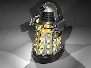 Dalek Chess Set Check Exterminate Sci Fi Design