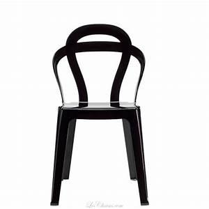 Chaise à Bascule Pas Cher : chaise design pas cher titi par scab chaise de cuisine transparente ~ Teatrodelosmanantiales.com Idées de Décoration