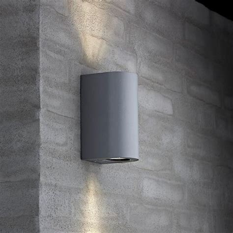 nordlux canto maxi outdoor wall light grey