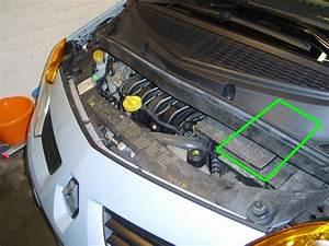 Renault Modus Car Battery Location