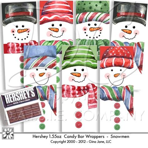 Have you seen those hershey's halloween themed snack bars? 4 Best Images of Printable Snowman Hershey Wrapper - Snowman Candy Bar Wrapper Template ...