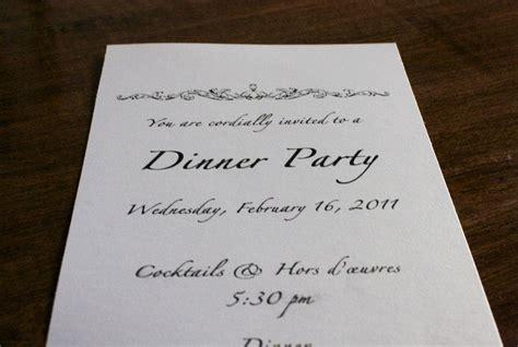Fancy Dinner Invitation Template Best Party Ideas