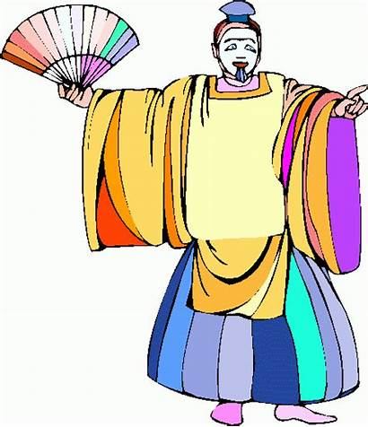 Actor Clipart Kabuki Clip Acting Theater Cliparts