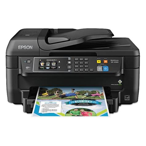 Operation & user's manual, presented here, contains 144 pages and can be viewed online or downloaded to your device in pdf format without registration or providing of. Epson WorkForce WF-2660 AIO Printer, Black - Walmart.com ...