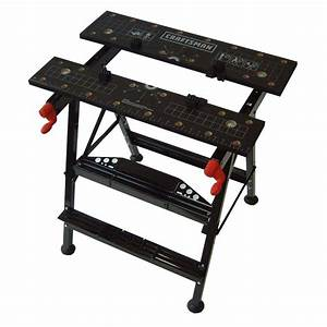 Craftsman Work Table: Keeping Projects Secure at Sears
