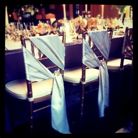 to brooch and to bow chiavari chair sashes weddingbee